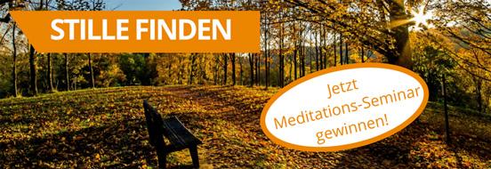 Jetzt Stille finden mit dem Herder.de-Newsletter