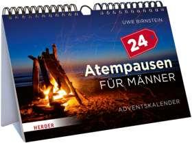 24 Atempausen für Männer. Adventskalender