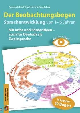 Auf einen Blick! – Der Beobachtungsbogen Sprachentwicklung von 1–6 Jahren. Mit Infos und Förderideen – auch für Deutsch als Zweitsprache