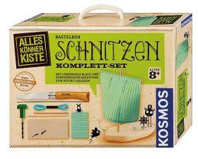 Bastelbox Schnitzen. Komplett-Set