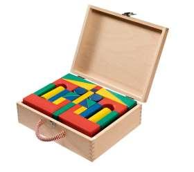Bausteine-Koffer, farbig