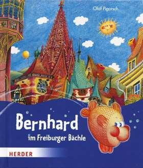 Bernhard im Freiburger Bächle