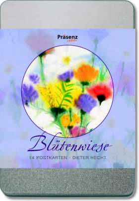 Blütenwiese. 14 Postkarten von Dieter Hecht