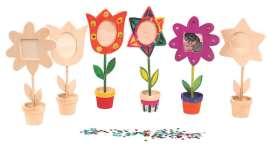 Blumen Bilderrahmen Bastelset, 12 Stück