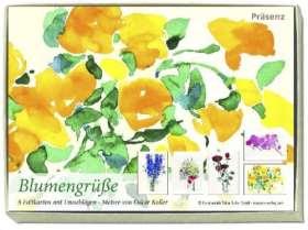 Blumengrüße. Kartenbox