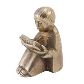 Bronzefigur Der Lesende
