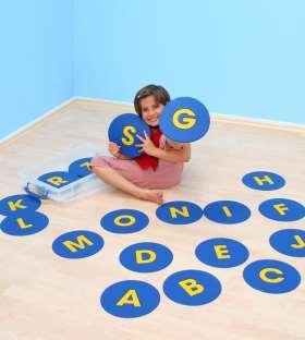 Buchstaben-Matten in Box