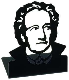 Buchstützen Goethe