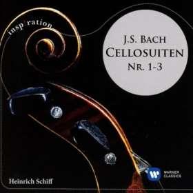 Cellosuiten Nr. 1-3