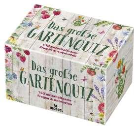 Das große Gartenquiz. 150 unterhaltsame Fragen & Antworten