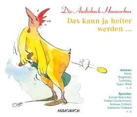 Das kann ja heiter werden ... Die Audiobuch-Humorbox
