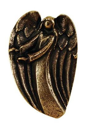 Dein Engel beschützt dich. Bronze-Handschmeichler