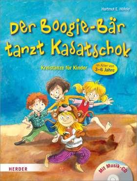 Der Boogie-Bär tanzt Kasatschok. Kreistänze für Kinder