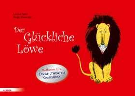 Der Glückliche Löwe. Bildkarten fürs Erzähltheater Kamishibai
