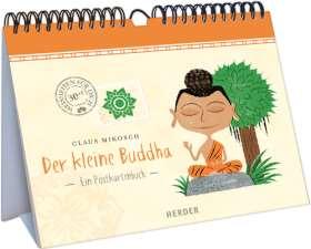 Der kleine Buddha. Ein Postkartenbuch
