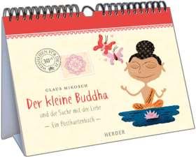 Der kleine Buddha und die Sache mit der Liebe. Ein Postkartenbuch