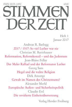 Der Maler Raffael und der Reformator Luther. Eine Gegenüberstellung