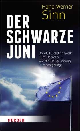 Der Schwarze Juni. Brexit, Flüchtlingswelle, Euro-Desaster - Warum wir Europa neu gründen müssen