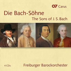 Die Bach-Söhne. Sinfonien & Konzerte von Wilhelm Friedemann Bach, Carl Philipp Emanuel Bach, Johann Christoph Friedrich Bach, Johann Christian Bach