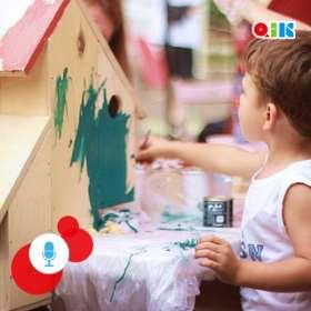 Die Bedeutung von Bauen & Basteln für die Entwicklung der Kinder - mit Michael Fink. Experten-Interview