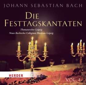 Die Festtagskantaten. Thomaschor Leipzig - Neues Bachisches Collegium Musicam Leipzig