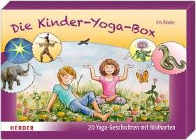 Die Kinder-Yoga-Box. 20 Yoga-Geschichten mit Bildkarten
