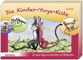 Die Kinder-Yoga-Kiste. 20 neue Yoga-Geschichten mit Bildkarten und Begleitheft