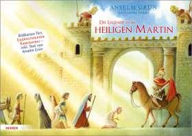 Die Legende vom heiligen Martin. Bildkarten fürs Erzähltheater Kamishibai. Bildkarten fürs Erzähltheater Kamishibai