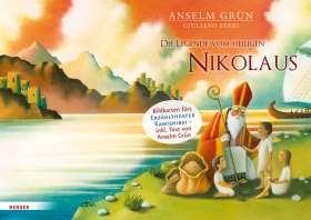 Die Legende vom heiligen Nikolaus. Bildkarten fürs Erzähltheater Kamishibai