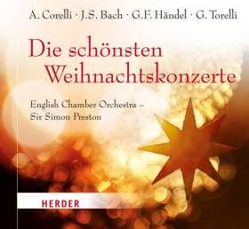 Die schönsten Weihnachtskonzerte. English Chamber Orchestra - Sir Simon Preston