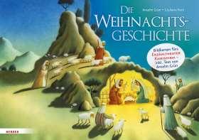 Die Weihnachtsgeschichte. Bildkarten fürs Erzähltheater Kamishibai