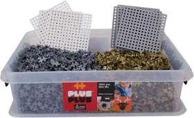 Doppel-Plus Bausteine Gold/Silber, inkl. 24 Bauplatten