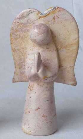 Engel stehend aus Speckstein