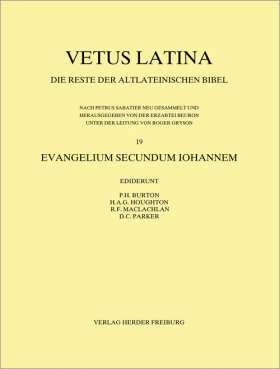 Evangelium secundum Iohannem. Fascicle 1: Jo 1,1 - 4,48
