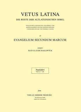 Evangelium secundum Marcum. Fasc. 6 Mc 8,11 - 9,46