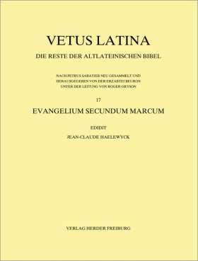 Evangelium secundum Marcum. Fascicule 1: Introduction