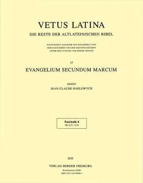 Evangelium secundum Marcum. Fascicule 4: Mc 4,15 - 6,16