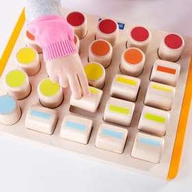 Farbzylinder Puzzle