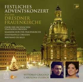 Festliches Adventskonzert . Aus der Dresdner Frauenkirche