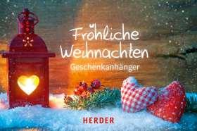 Fröhliche Weihnachten 2016. Geschenkanhänger