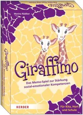 Giraffimo. Das Memo-Spiel zur Stärkung sozial-emotionaler Kompetenzen. Für Kita, Hort und Schule
