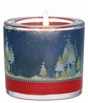 Glaswindlicht Licht der Weihnacht