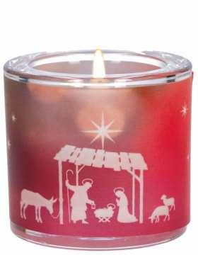 Glaswindlicht Stille der Weihnacht