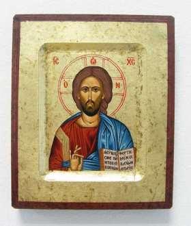 Griechische Ikone. Christus