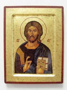 Griechische Ikone. Christus der Erlöser