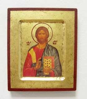 Griechische Ikone. Christusdarstellung