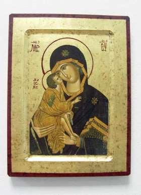 Griechische Ikone. Madonna Vladimir
