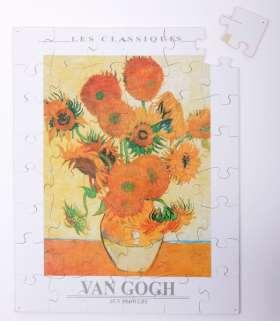 Großes Holz-Puzzle, 48 Teile, van Gogh - Sonnenblumen