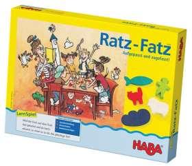 HABA Ratz Fatz- Aufgepasst und Zugefasst! - Lernspiel