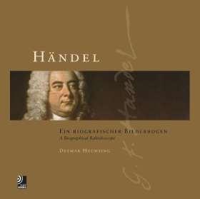 Händel - Ein biografischer Bilderbogen. Bildband inkl. 4 CDs